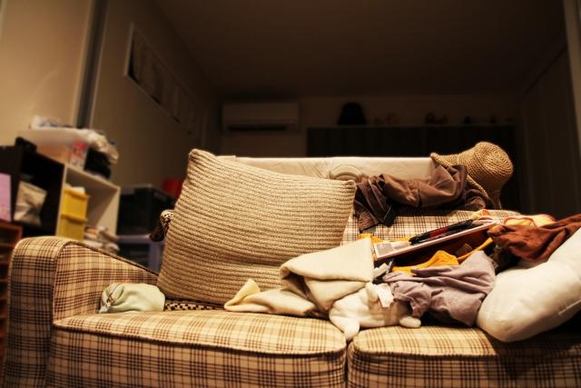 一人暮らしで友達がいない女性の部屋